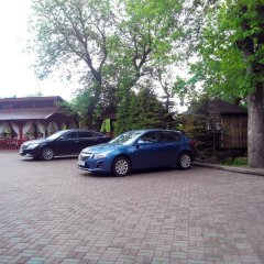 Гостиница Усадьба парковка