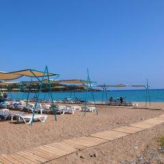 Meridia Beach Hotel Турция, Окурджалар - отзывы, цены и фото номеров - забронировать отель Meridia Beach Hotel онлайн пляж фото 2