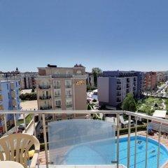 Отель Апарт Отель Рейнбол Болгария, Солнечный берег - отзывы, цены и фото номеров - забронировать отель Апарт Отель Рейнбол онлайн бассейн фото 2