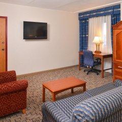 Отель Comfort Inn & Suites Downtown Tacoma США, Такома - отзывы, цены и фото номеров - забронировать отель Comfort Inn & Suites Downtown Tacoma онлайн комната для гостей фото 5