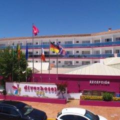 Отель Diverhotel Dino Marbella парковка