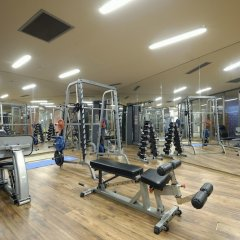 Отель La Blanche Island Bodrum - All Inclusive фитнесс-зал фото 4