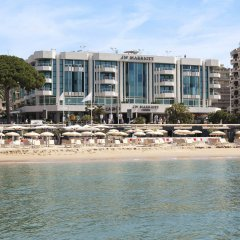 Отель JW Marriott Cannes пляж