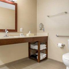 Отель Comfort Suites Columbus Airport США, Колумбус - отзывы, цены и фото номеров - забронировать отель Comfort Suites Columbus Airport онлайн ванная