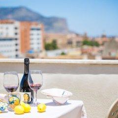 Отель Albergo Athenaeum Италия, Палермо - 3 отзыва об отеле, цены и фото номеров - забронировать отель Albergo Athenaeum онлайн балкон