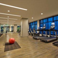 Отель Somerset Xu Hui Shanghai фитнесс-зал