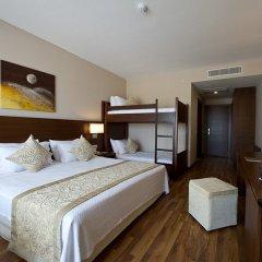 Отель Roma Beach Resort & Spa Сиде комната для гостей