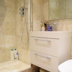 Апартаменты Cosy 1 Bedroom Studio Flat in Knightsbridge Лондон ванная фото 2