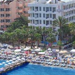 Отель Palm Beach пляж
