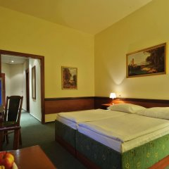 Отель Three Crowns Прага комната для гостей