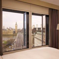 Отель Park Plaza Westminster Bridge London Великобритания, Лондон - 3 отзыва об отеле, цены и фото номеров - забронировать отель Park Plaza Westminster Bridge London онлайн балкон