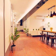 Air Hostel Myeongdong Сеул интерьер отеля фото 2