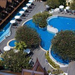 Отель Diamond Cottage Resort And Spa пляж Ката балкон