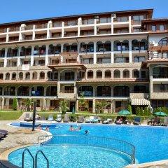 Отель OLYMP Apartcomplex Свети Влас пляж
