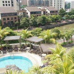 Отель Robertson Quay Hotel Сингапур, Сингапур - отзывы, цены и фото номеров - забронировать отель Robertson Quay Hotel онлайн бассейн