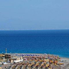 Отель Aquamare Hotel Греция, Родос - отзывы, цены и фото номеров - забронировать отель Aquamare Hotel онлайн пляж