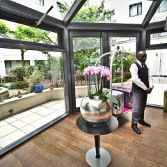 Отель Hôtel Concorde Montparnasse фитнесс-зал