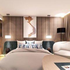 Отель Quinter Central Nha Trang Вьетнам, Нячанг - отзывы, цены и фото номеров - забронировать отель Quinter Central Nha Trang онлайн комната для гостей фото 3