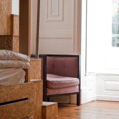 The Independente Hostel & Suites Лиссабон комната для гостей