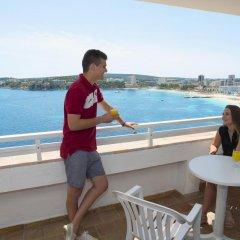 Отель HSM Sandalo Beach балкон