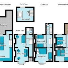 Отель Camelford House Кемптаун интерьер отеля