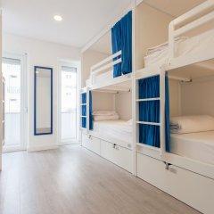 Be Lisbon Hostel комната для гостей