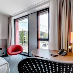 Отель Hilton Garden Inn Stuttgart Neckar Park комната для гостей фото 2