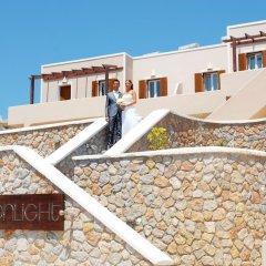 Отель Moonlight Apartments Греция, Остров Санторини - отзывы, цены и фото номеров - забронировать отель Moonlight Apartments онлайн балкон