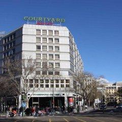 Отель Courtyard by Marriott Madrid Princesa городской автобус