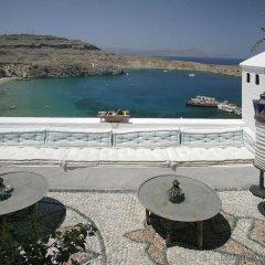 Отель Melenos Lindos Exclusive Suites and Villas пляж