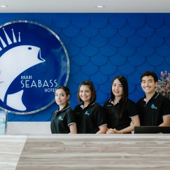 Krabi SeaBass Hotel интерьер отеля