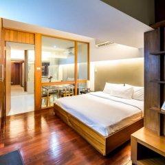 Апартаменты Laemtong Service Apartment сейф в номере