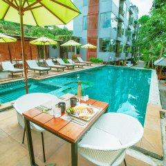 Отель Baan Khao Hua Jook питание фото 2