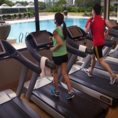 Отель Parkroyal On Beach Road Сингапур фитнесс-зал фото 3