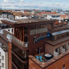 Отель Radisson Blu Seaside Hotel, Helsinki Финляндия, Хельсинки - - забронировать отель Radisson Blu Seaside Hotel, Helsinki, цены и фото номеров балкон
