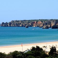 Отель Dom Pedro Meia Praia пляж