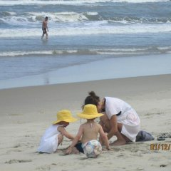 Отель An Bang Beach Holidays пляж фото 2