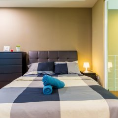 Отель KL Guesthouse Scott Garden Малайзия, Куала-Лумпур - отзывы, цены и фото номеров - забронировать отель KL Guesthouse Scott Garden онлайн комната для гостей фото 5