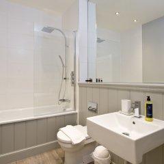 Отель Destiny Scotland - George Iv Apartments Великобритания, Эдинбург - отзывы, цены и фото номеров - забронировать отель Destiny Scotland - George Iv Apartments онлайн ванная