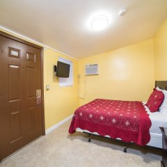 Апартаменты El Patio Inn Studio City Лос-Анджелес комната для гостей