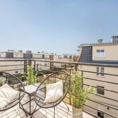 Апартаменты Lion Apartments -Colonial Сопот балкон