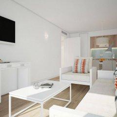 Отель Aparthotel Ponent Mar Испания, Пальманова - 1 отзыв об отеле, цены и фото номеров - забронировать отель Aparthotel Ponent Mar онлайн комната для гостей фото 4