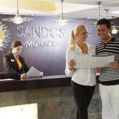 Отель Sandos Monaco Beach Hotel & Spa - Только для взрослых - Все включено Испания, Бенидорм - отзывы, цены и фото номеров - забронировать отель Sandos Monaco Beach Hotel & Spa - Только для взрослых - Все включено онлайн интерьер отеля