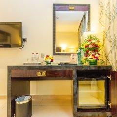 Smana Hotel Al Raffa Дубай ванная