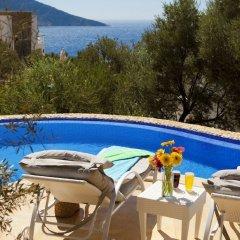 Villa Nes Турция, Калкан - отзывы, цены и фото номеров - забронировать отель Villa Nes онлайн бассейн