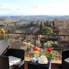 Отель B&B Ridolfi Италия, Сан-Джиминьяно - отзывы, цены и фото номеров - забронировать отель B&B Ridolfi онлайн балкон