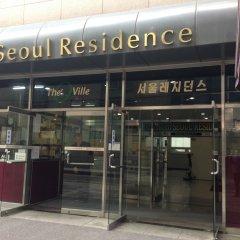 Отель Seoul Residence банкомат
