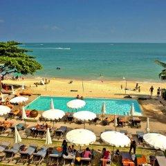 Отель Lamai Wanta Beach Resort пляж фото 2