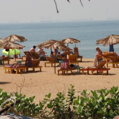 Отель Paradise Village Beach Resort Индия, Гоа - отзывы, цены и фото номеров - забронировать отель Paradise Village Beach Resort онлайн пляж фото 2