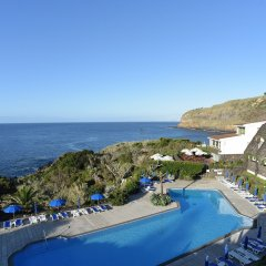 Отель Caloura Hotel Resort Португалия, Агуа-де-Пау - 3 отзыва об отеле, цены и фото номеров - забронировать отель Caloura Hotel Resort онлайн бассейн фото 3